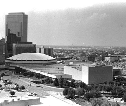 Tarrant Co. Convention Center ,1967 Fort Worth, TX
