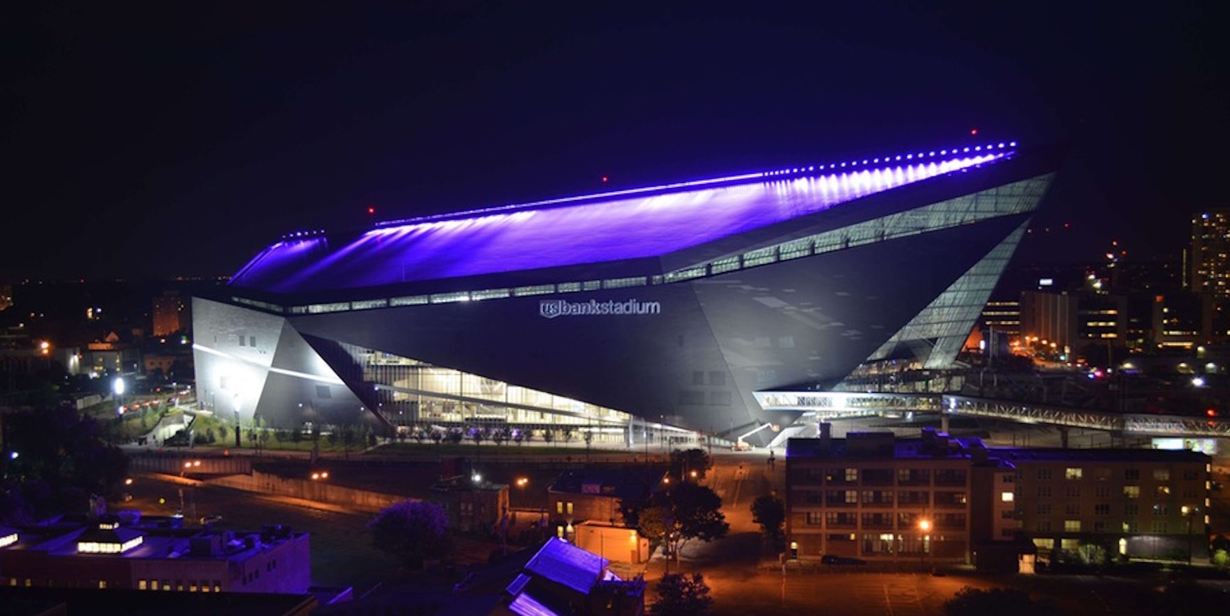 US Bank Stadium, home of the Minnesota Vikings