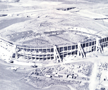 Texas Stadium ,1968 Irving, TX