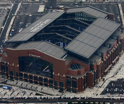 Lucas Oil Stadium ,2007 Indianapolis, IN