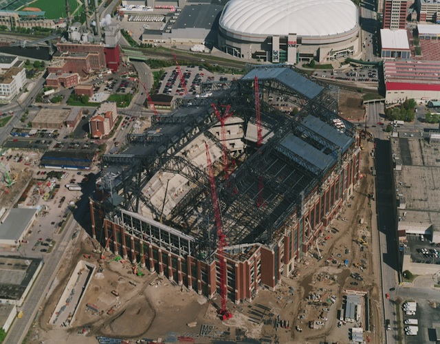 Lucas Oil Stadium Derr Amp Isbell Construction